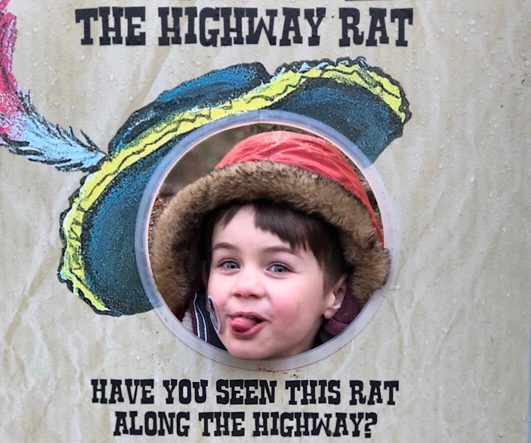 Highway Rat Trail at Fineshade Wood, Northamptonshire